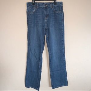 Old Navy Loose Boot Cut Boys Jeans size 18